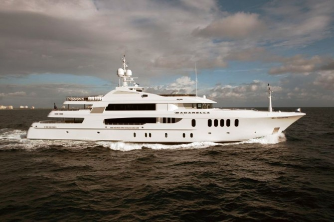 Superyacht Bacarella by Trinity Yachts 2010