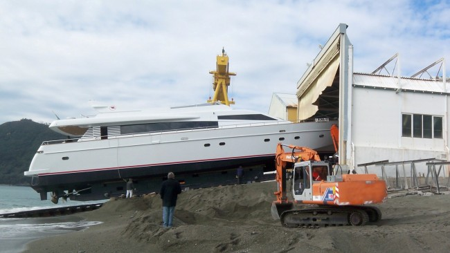 The Diano Crowbridge Yacht at Launch