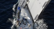 The ICAP Leopard Supermaxi Yacht On Her Transatlantic Attempt