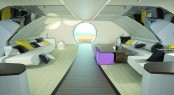 The U-010 Underwater Luxury Yacht Design Concept interior