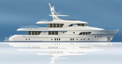 The new Moonen 133 - Moonen Yachts