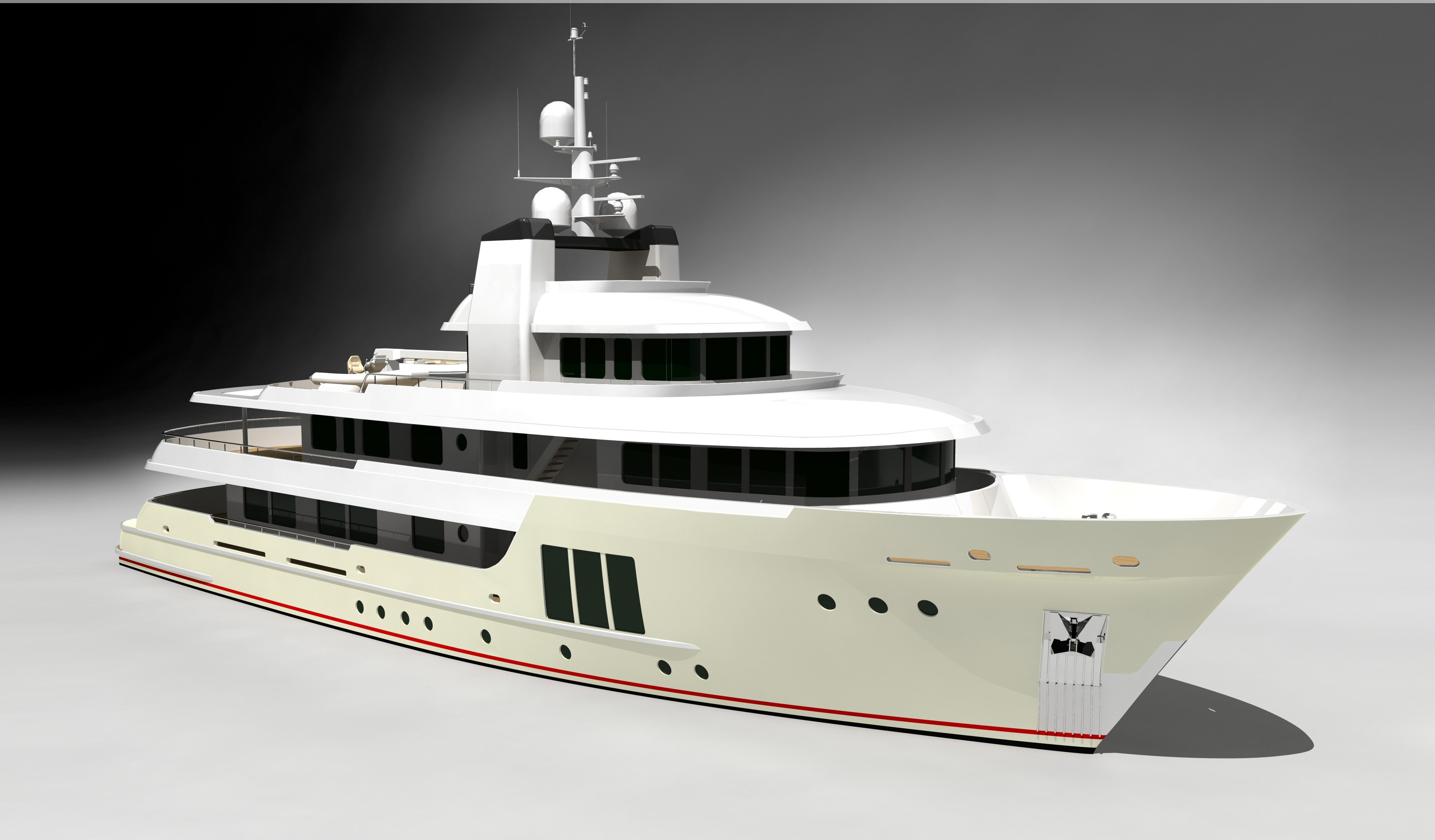 The Superb Vripack 138 39 Luxury Expedition Motor Yacht