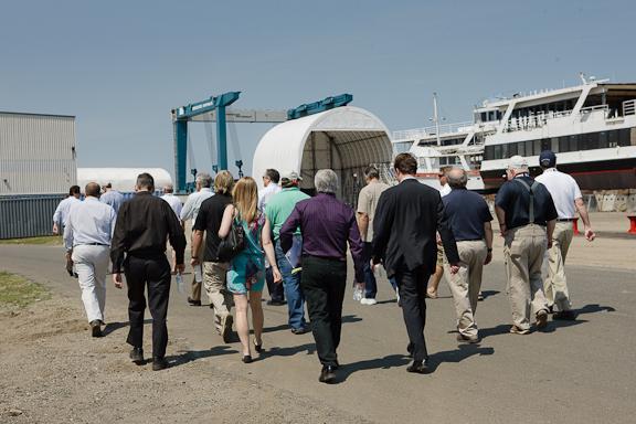 Tour of the Derecktor Shipyard