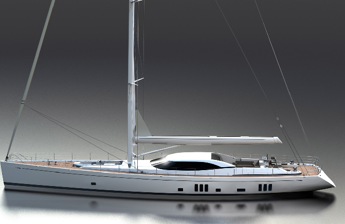 SuperYacht Oyster 125 to be introduced at the 2010 Monaco Yacht Show