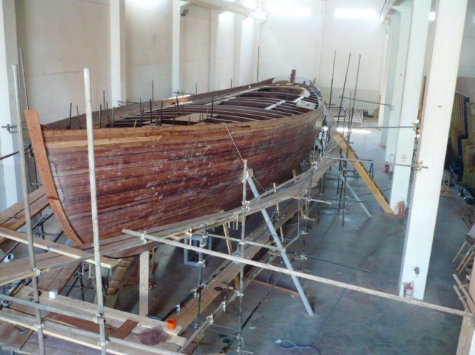 141, the 25m Schooner will have a rig and deck gear by Formula Marine, ...