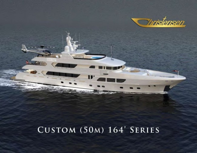 Christensen Custom 164 Series Motor Yacht Deputy Dog and Perfect Pursuit