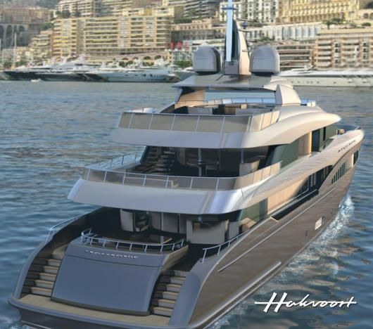Hakvoort superyacht Hull YN247 - Photo Credit Hakvoort