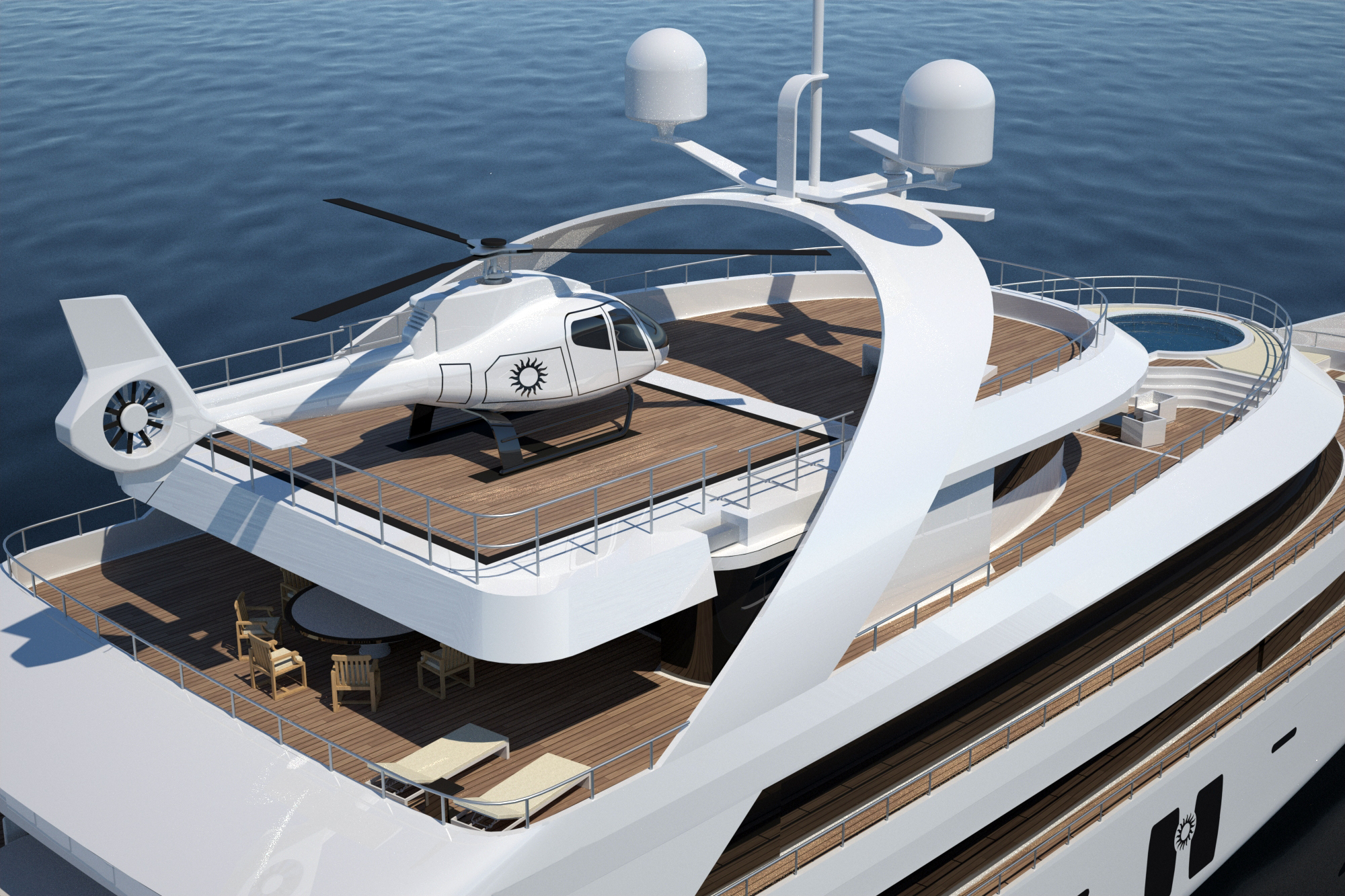 helicopter landing pads with Helipad on Index furthermore Boat R additionally 243556 besides Paul Allens Yacht Tatoosh moreover 379127.