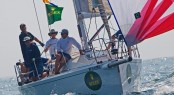 Sailing yacht Rush, Bill Sweetser, ended up second in IRC 5, to Storm, Rick Lyall.  Photo Credit Rolex - Daniel Forster