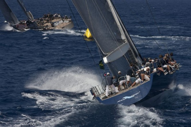 Sailing Yacht Magic Carpet - Photo by Carlo Borlenghi