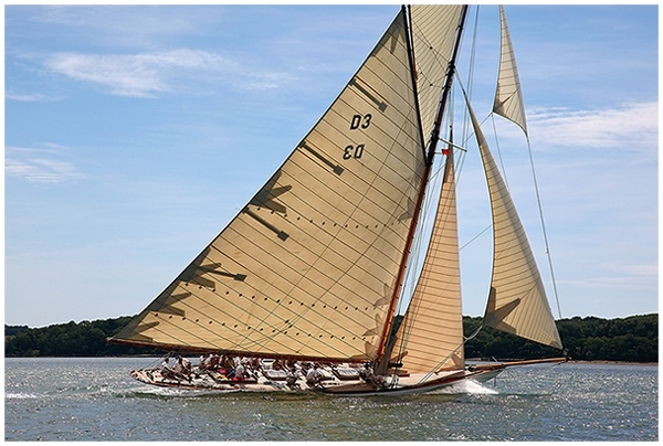Sailing Yacht TUIGA - photo by Chris Boynton