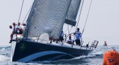 Sailing yacht Numbers, skippered by Dan Meyers, won IRC 1 with three first-place finishes and three second-place finishes. Photo Credit Rolex - Daniel Forster