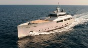 Superyacht Exuma launched by Perini Navi
