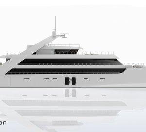 Superyacht SHINING - Image Courtesy of 2PIXEL STUDIO