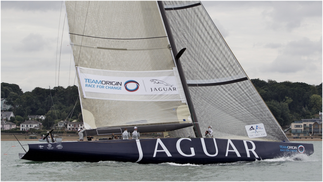 Team Origin Jaguar Yacht