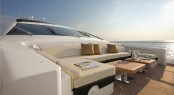 The Azimut 103 S Forward Relax Area