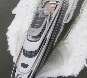 Motor Yacht LUCIA-M excels at sea trials