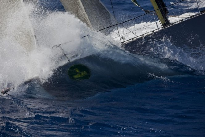 Yacht RAN  Niklas Zennstrom the winner of Mini Maxi Racing - Photo by Carlo Borlenghi