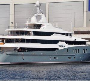 The 78m Motor Yacht TITAN 2010 by Abeking & Rasmussen in Germany