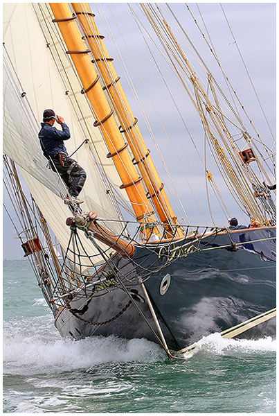Sailing Yacht MARIETTE - photo by Chris Boynton