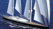 A Design Rendering of Superyacht VERTIGO - AY41