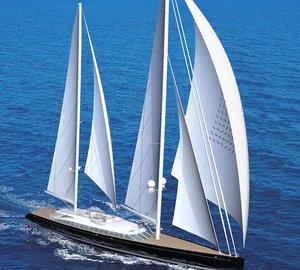 Alloy Sailing Yacht VERTIGO designed by Philippe Briand