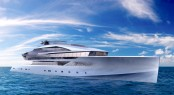 Adam Voorhees designed Superyacht AURORA
