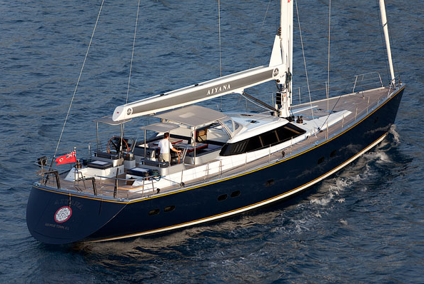 Alia Sailing Super Yacht Aiyana