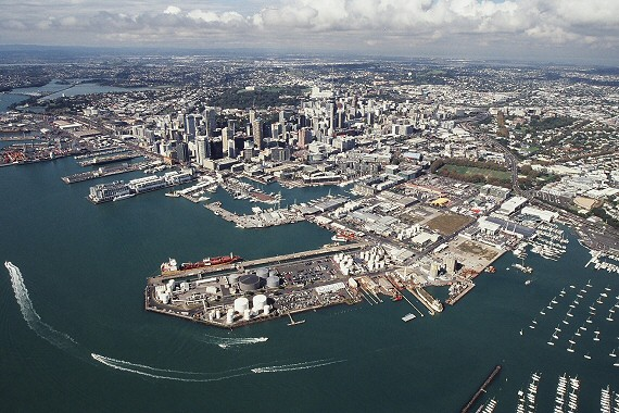 Auckland, New Zelaand from above - Photo Credit Sea+City Projects Ltd