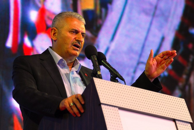 Binali Yıldırım the Turkish Minister of Transport