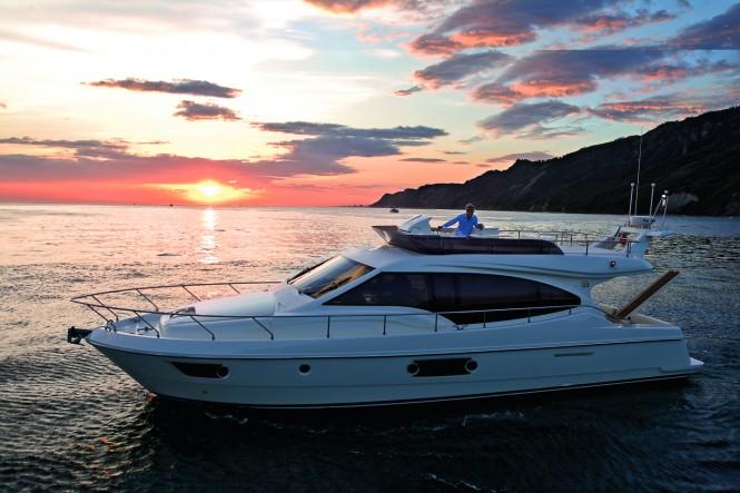 Ferretti 500 Motor Yacht - Image courtesy of Ferretti