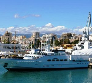 Superyacht Paraiso refitted at Astilleros de Mallorca