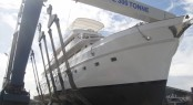 Motor yacht Sea Breeze - On Crane