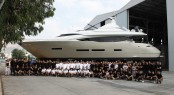 Peri 29 Yacht MITSI at her launch - Image courtesy of Peri Navi