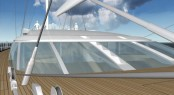 Sailing Yacht Vertigo - Foredeck and Flybridge View