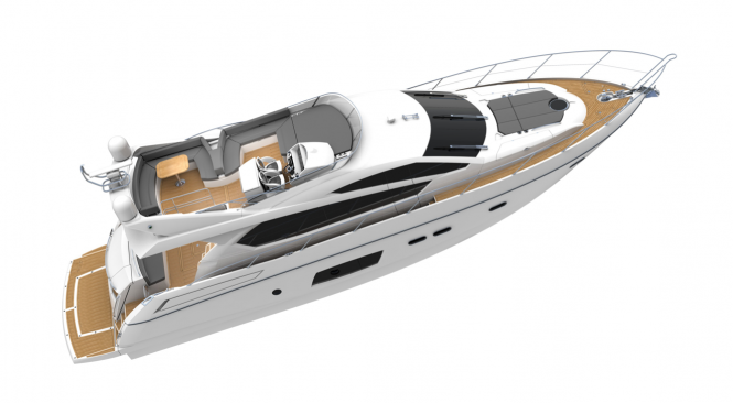 Sunseeker Manhattan 63 motor yacht