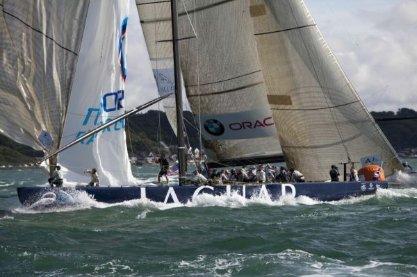 The 1851 Cup - Racing - Day 1 Photo Credit Gilles Martin-Raget  BMW ORACLE