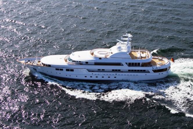 The 2010 Nobiskrug 60 m Motor Yacht Jamaica Bay