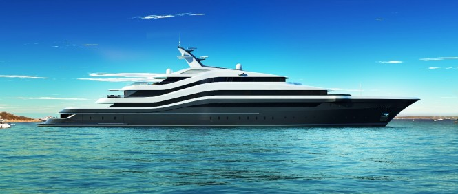 The lurssen 88 meter orchid yacht in calla di volpe for Lurssen yacht genova