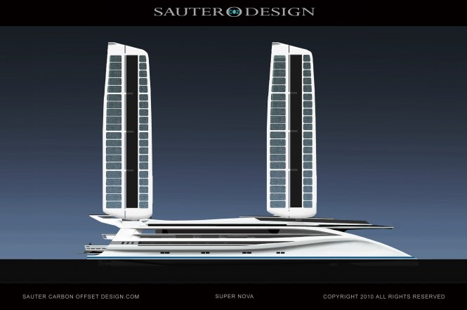 The Super Nova Yacht a Green 60 m Catamaran Design