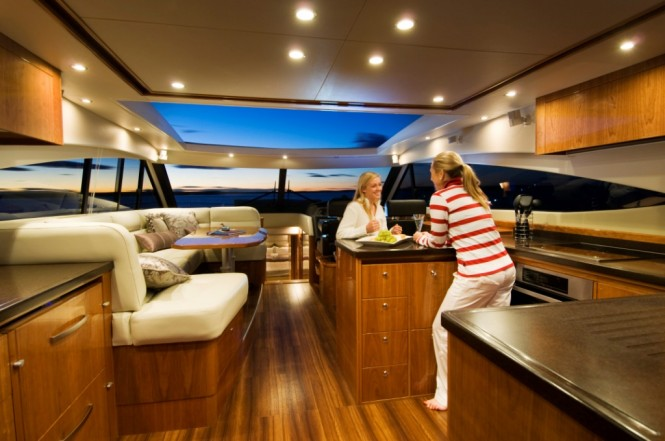 The single level living and functional galley is a feature of the 5800 Sport ...
