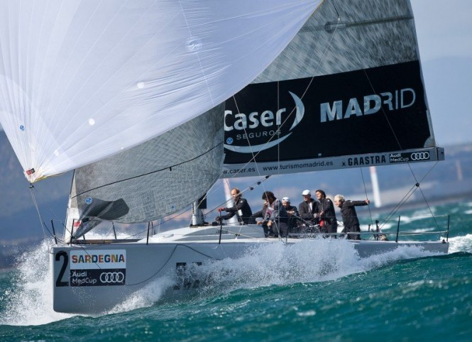 Audi medcup matador and madrid caser seguros win in cagliari yacht charter superyacht news - Caser seguros madrid ...