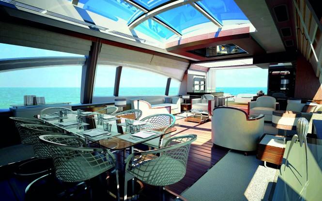 Azimut grande 120sl mega yacht salon luxury yacht - Salon du yacht monaco ...