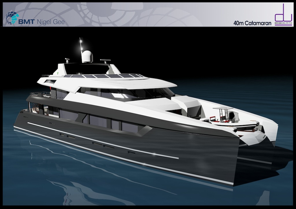 Bmt Nigel Gee 40 Metre Motor Yacht To Be Built By Sunreef
