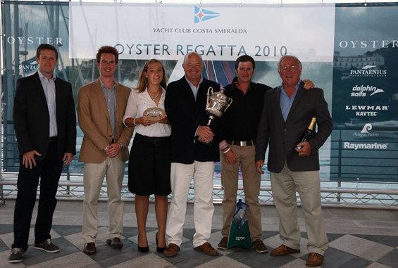 Class 1 winner, Trevor Silver, Oyster 655 Roulette V2 - Photo Credit Oyster ...