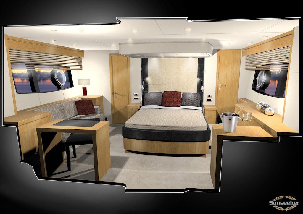 Sunseeker manhattan 63 yacht charter superyacht news for Manhattan interior decorators