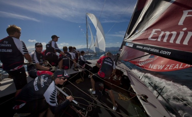 Emirates Team New Zealand - Photo Credit Stefano Gattini Studio BorlenghiAudi MedCup