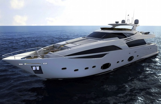 "Ferretti Custom Line 100 Yacht. ""The project for the 100', which we will see ..."