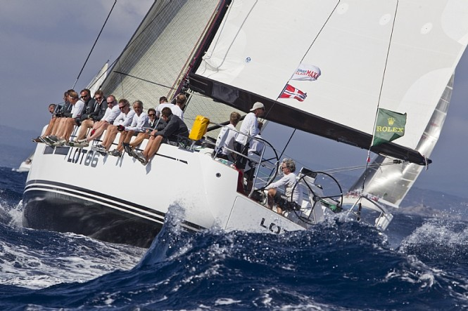 LOTT 66 yacht at Rolex Swan Cup 2010 - Image credit to Carlo Borlenghi - ...