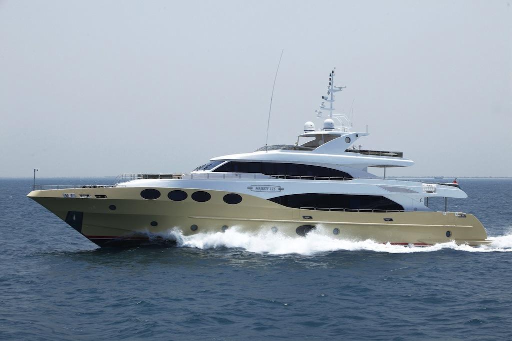 Majesty 125 Motor Yacht Yacht Charter Amp Superyacht News